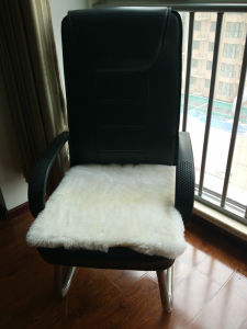 Real Lambskin Fur Car Seat Cushion