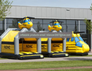 Kids Inflatable Helicopter Jumping Bouncer for Sale pictures & photos