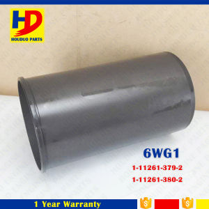 Top Quality 6wg1 Cylinder Liner for Isuzu Excavator Parts (1-11261-379-2 1-11261-380-2) pictures & photos