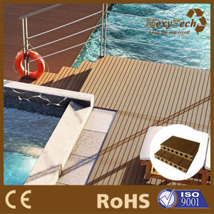 Hot Sale Waterproof Plastic Wood Composite Decking pictures & photos