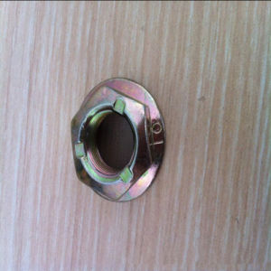 Metric Prevailing Torque Type Hexagon Flange Nuts (pressing point type) Zp pictures & photos