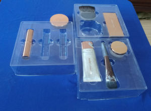 Clear Pet Blister Tray for Cosmestic Set Pet Blister Packing Tray for Cosmestic pictures & photos