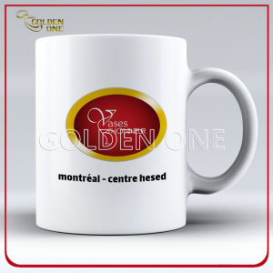 High Quality Wholesale Printed White Ceramic Mug pictures & photos