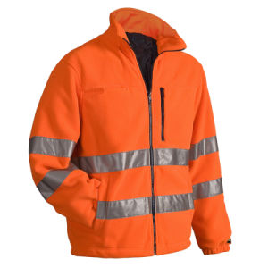 High Visibility Class III Reflective Safety Jackets Removable Lining pictures & photos