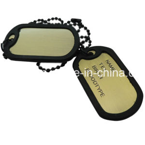 Factory Custom Ball Chain Military Dog Tag pictures & photos
