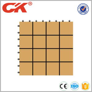 300*300*22mm Factory Price WPC DIY Tile Flooring pictures & photos