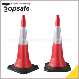 1m 5 Kg HDPE Road Cone pictures & photos