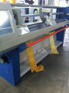 Knitting Machine with 2 Heads and 4 Knitting System pictures & photos