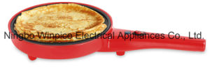 Multi-Function Crepe Maker, 3-in-1 Snacks Maker, Omelet Maker, Pancake Maker, Popcorn Maker