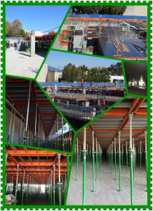 Panel-Prop Early Stripping Green Formwork Flatslab Formwork for Concrete Construction pictures & photos