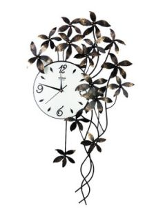 Hot Sale Beautiful Decoration Metal Wall Clock for You Home