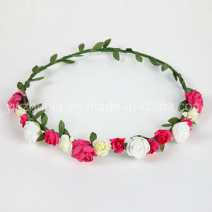 Silk Flowers Wreath for Wedding Decoration pictures & photos