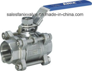 1000wog 3PC Type Ball Valve with Internal Thread pictures & photos