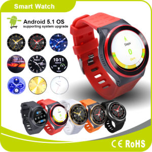 Android Watch Mobile Phone Bluetooth Smart Watch Heart Rate GPS Pedometer Smart Watch pictures & photos