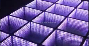 LED Mirror 3D Dance Floor Un Music Control pictures & photos
