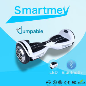 Newest Two Wheels Jumping Scooter with LED and Bluetooth/Skateboard