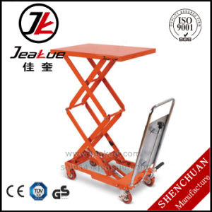 2017 Newest 200kg Hydraulic Pedal Lift Table pictures & photos