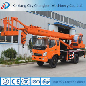 Hot Selling 18m Working Height China Truck Crane with Basket pictures & photos