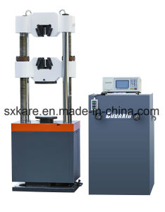 Digital Display Universal Testing Machine (WES-600B) pictures & photos