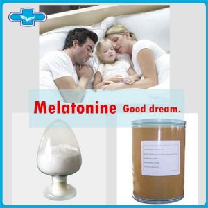 Melatonin Plant Extract Melatonine Raw Material for Good Sleep