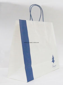 Wholesale Custom Printed Paper Printed Shopping Gift Bag with Paper Handle pictures & photos