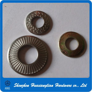 China Fasteners Nfe25511 Serrated Tooth Knurling Conical Spring Washer pictures & photos