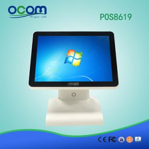 POS-8619 15′′ Restaurant Windows Touch POS System with Dual Display pictures & photos