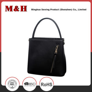 Multifunctional Portable Vertical Branded Leather Women Handbags Whit Tablet Computer pictures & photos