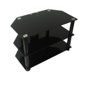 Best Seller Glass LED TV Stand with Low Price pictures & photos