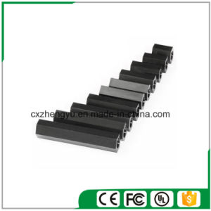 M4 Nylon Hex Threaded Female to Female Standoff/Spacer (Color: Black) pictures & photos