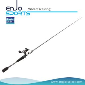 Vibrant One-Piece Carbon Fiber Spinning Rods with FUJI Sic Guides & FUJI Reel Seat (DVB-61L / DVB-66M) pictures & photos