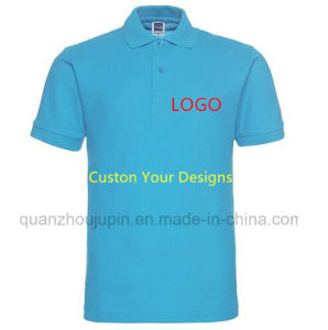 Custom Logo Print Men Women Work Advertising Polo T Shirt pictures & photos