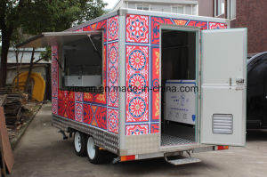 High Quality Mobile Food Truck pictures & photos