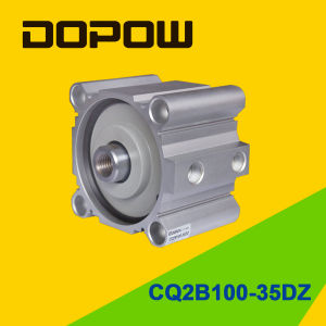 Dopow Series Cq2b100-35 Compact Cylinder Double Acting Basic Type pictures & photos