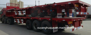 17.5 Meters Low Bed Truck Trailer pictures & photos