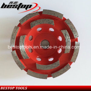 Double Row Grinding Cup Wheel for Concrete pictures & photos