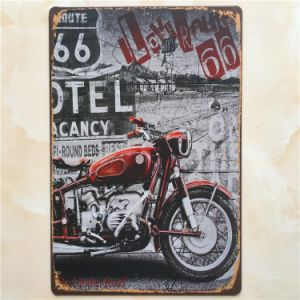 Outdoor Decorations 20*30cm Tinplate pictures & photos