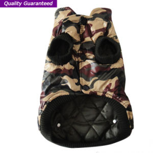Pet Product Fashionable Camouflage Polyfill Dog Clothes pictures & photos