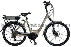 "26"" MID Motor Electric Bike with Bafang Max Central Motor System/Torque Sensor Electric Bike for Europe Market (SY-E2616) pictures & photos"