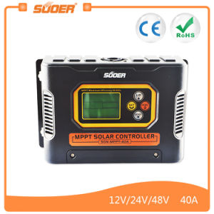 Suoer Solar Power Controller 40A MPPT Controller (SON-MPPT-40A) pictures & photos