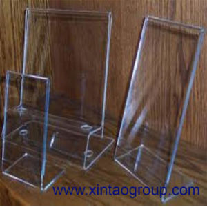 Plexiglass Used in Sunglass Store Frame Holder Stair Shape Acrylic Eyewear Display Stand pictures & photos