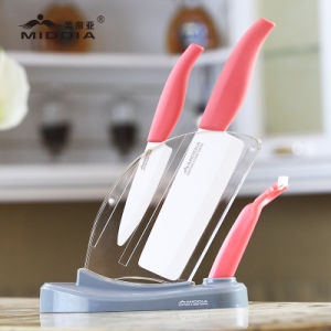 Hot Selling Promotional Gift Ceramic Kitchen Knife Set pictures & photos