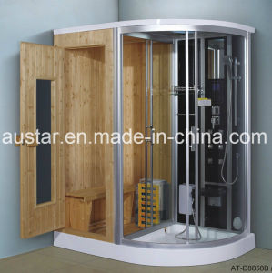1700mm Steam Combined Sauna with Shower (AT-D8858B) pictures & photos