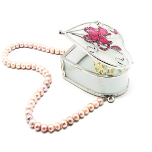MOQ 120 PC Jewelry Box with Custom Logo Wholesale Hx-6430 pictures & photos
