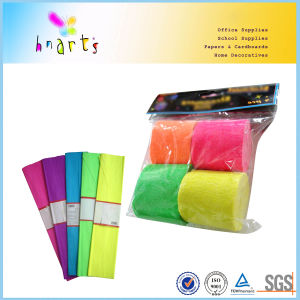 Mix Colors Fluorescent Crepe Paper pictures & photos
