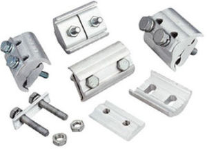 High Strength Uncoated Aluminium Parallel Groove Clamps Mag Alpg Type pictures & photos
