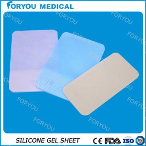 Scar Removal Transparent Silicone Gel Sheet with Silicone Oil Technology pictures & photos