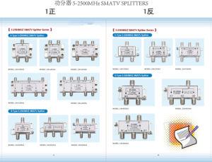 2 Way 5-2500MHz Satellite TV Splitter (SHJ-D202SA) pictures & photos