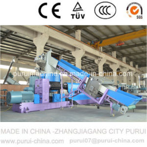 Waste Agricultural Film Plastic Pelletizer with Compactor pictures & photos