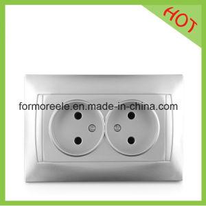European Double Socket Outlet /Russian Market pictures & photos